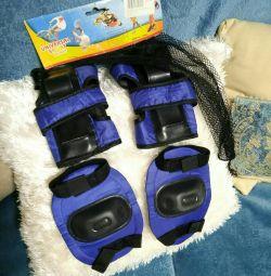 Защита для роликов/ скейта комплект