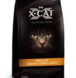 Итальянские корма X-Cat для кошек