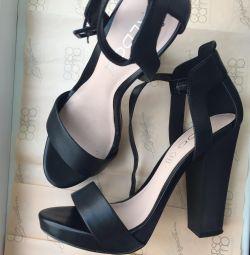 Sandale din piele АLDO 37-37,5 р-р