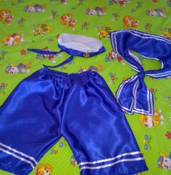 sailor suit 6-7 years old