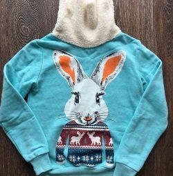 Sweatshirt tricou de iepure