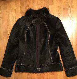 Куртка з хутра нерпи разм М