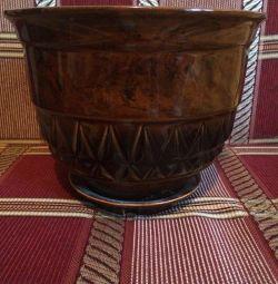 Flower pot average new ceramic