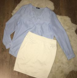 Skirt and shirt