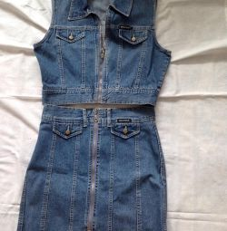 Costum din denim p w 30 l 32