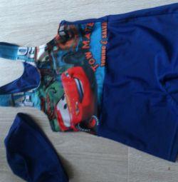 Costum de baie pentru băiat