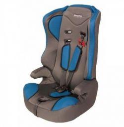 Car seat Mishutka 1-12 years. New. Blue