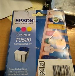 Cartridge T0520 color Epson Model S020191 / S0200
