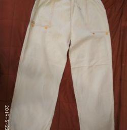 Pantaloni vara pentru adolescentul de 10-12 ani