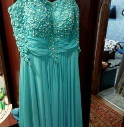 Chic rochie cu culoare turcoaz