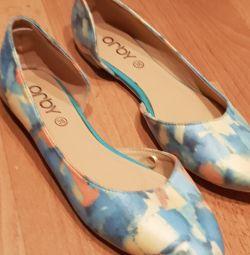 Ballet Flats 37 μέγεθος