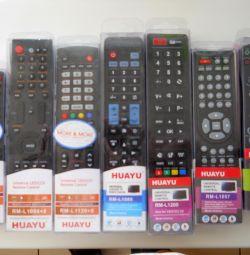 Many remote controls