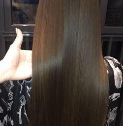 Keratin, botox, nanoplastics all for beautiful hair