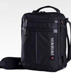 Ανδρική τσάντα SwissWin. Cool!