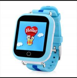 Ρολόι GPS για το παιδικό μωρό σας Q100 GW200s