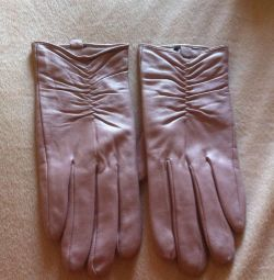 Gloves leather