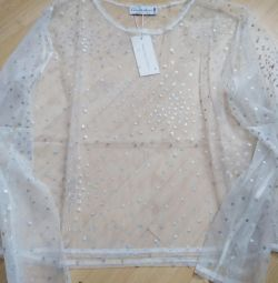 NEW blouse transparent
