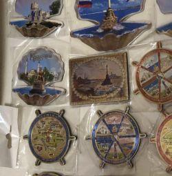 Crimeea, magnete, suvenir 8x7cm. cheie de bani