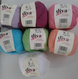 100% cotton knitting yarn