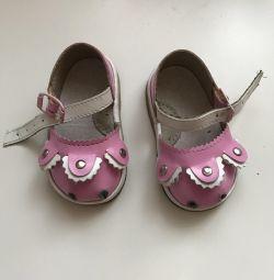 Туфельки детские 10,5см по стельке