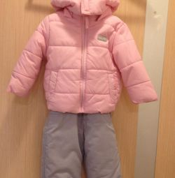 Suit for children, jumpsuit and jacket, fall-winter. 68