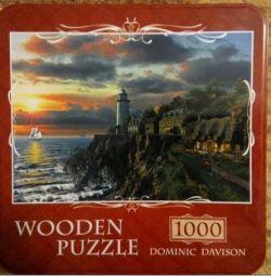 Puzzle-uri din lemn. 1000 el.