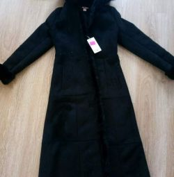 Sheepskin παλτό νέο