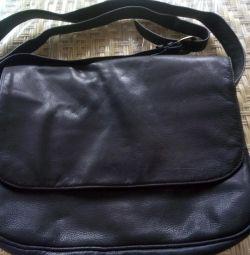 Шкіряна сумка MERLIN