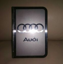 Блокнот Audi новий