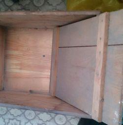 Box for salting fish
