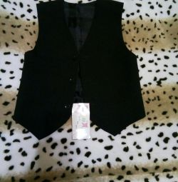 Vest + trousers p.122 for a boy's height 122