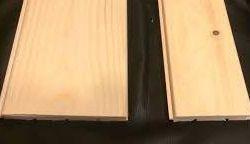 Вагонка штиль сосна С класса 96х14