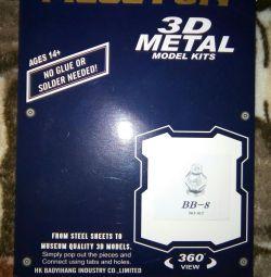 Constructor de metal 3D