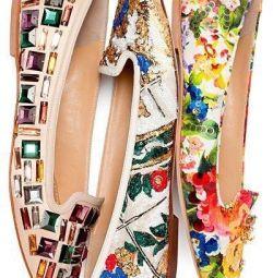 Ayakkabı loafer'lar yeni