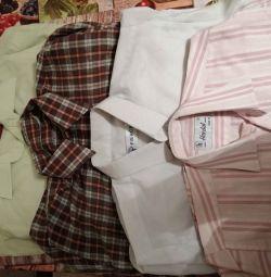 Шкільні сорочки пакетом на 10/11 років