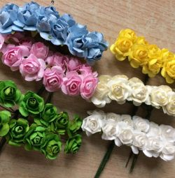 Трояндочки паперові для творчості