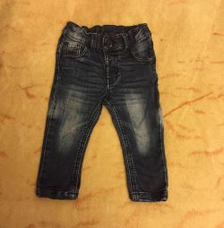 Children's jeans, size 74