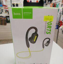 Kablosuz kulaklıklar Hoco Premium es16 green
