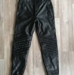 Motorcycle pants, leather