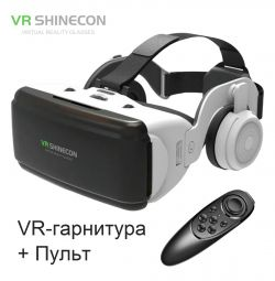 Glasses VR 3D Headset Shinecon G06E + Remote New