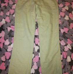 Παντελόνια από λινάρι / βαμβάκι