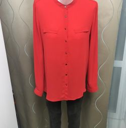 Red blouse 46 r