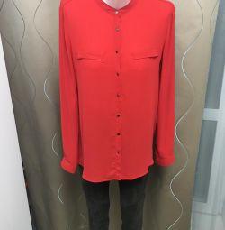 Bluză roșie 46 r
