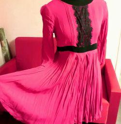Платье малинового цвета!(Подходит беременным)