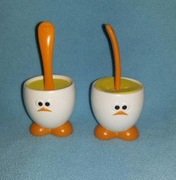 Stand for eggs with a spoon 2 pcs, Joie