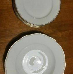 Plates, 80th, Czechoslovakia 200r for all