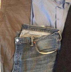 Пакет мужской одежды 58/190
