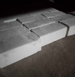 White silicate brick 12x25x8.5