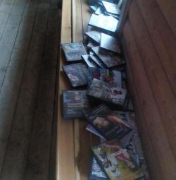 Kitabın diskleri.