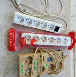 Cabluri prelungitoare electrice. schimb